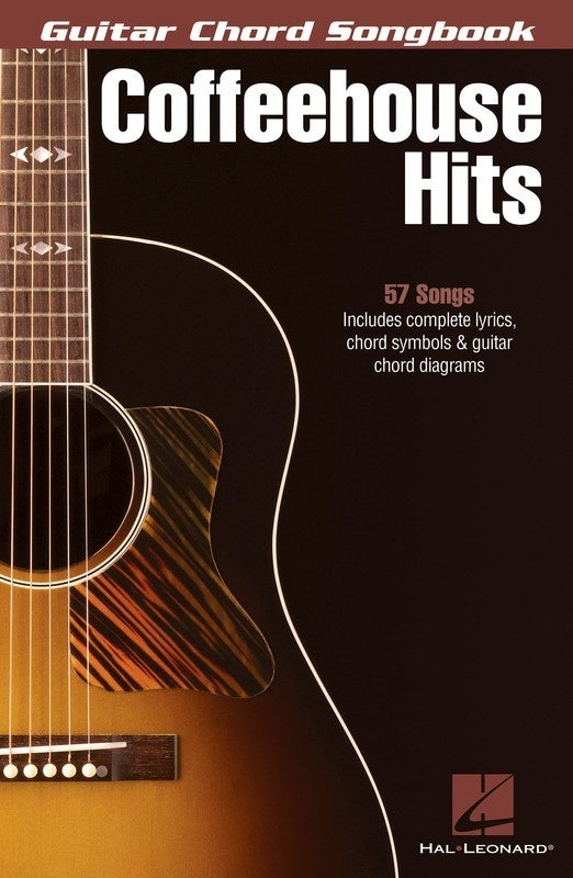 Guitar Chord Songbook Coffeehouse Hits (Softcover Book)
