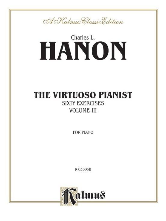 Hanon Virtuoso Pianist Book 3 P/S