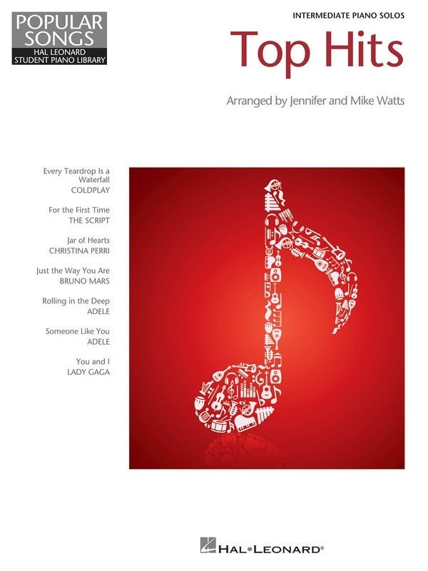 HLSPL Top Hits Intermediate Piano Solos (Softcover Book)