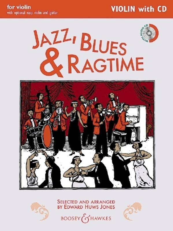 Jazz Blues And Ragtime Violin Book/CD (New Edition) (Softcover Book/CD)
