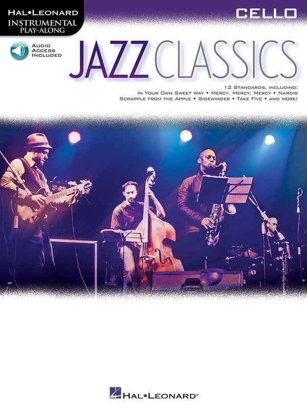 Jazz Classics For Cello Book/Online Audio (Softcover Book/Online Audio)