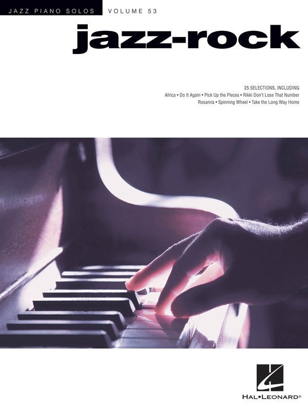 Jazz-Rock Jazz Piano Solo Series V53 Jps (Softcover Book)