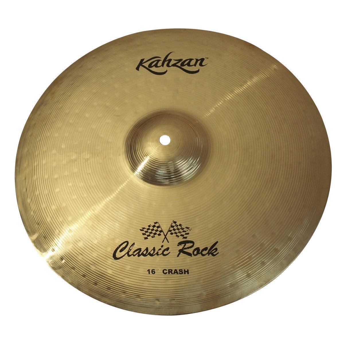 "Kahzan 'Classic Rock Series' Crash Cymbal 16"""
