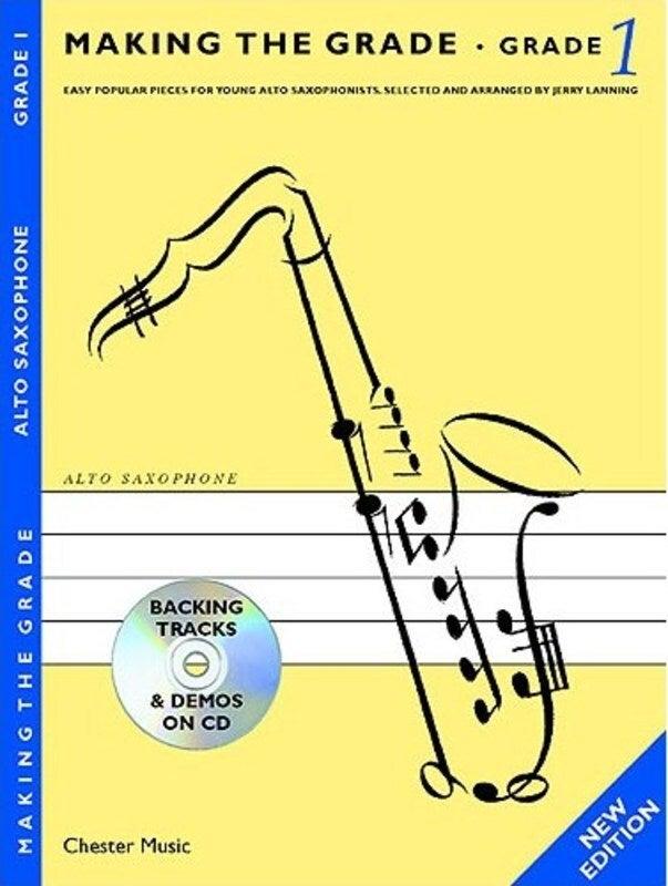Making The Grade 1 Alto Sax/Piano Book/CD New Ed. (Softcover Book/CD)