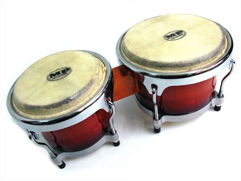 Mano Percussion Bongos Professional Cuban Style 7 Inch + 8 Inch