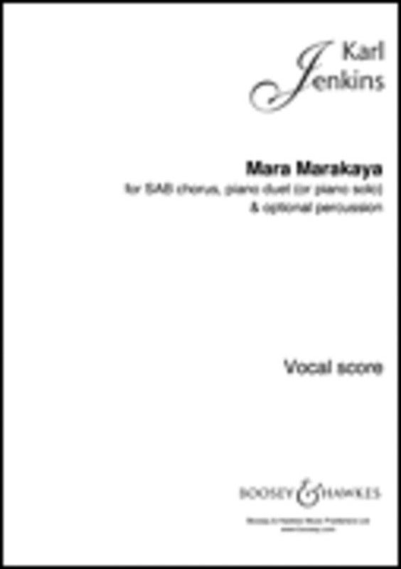 Mara Marakaya Sab / Piano Duet (Or Solo) Score Book