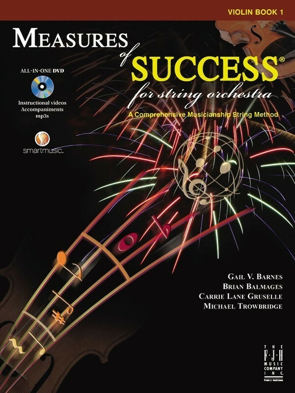 Measures Of Success Violin Book 1 Book/DVD (Softcover Book/DVD)
