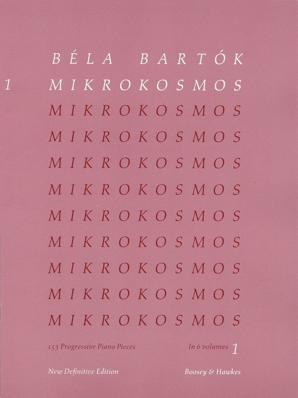 Mikrokosmos Vol 4 Pink Nos 97-121 Piano (Softcover Book)
