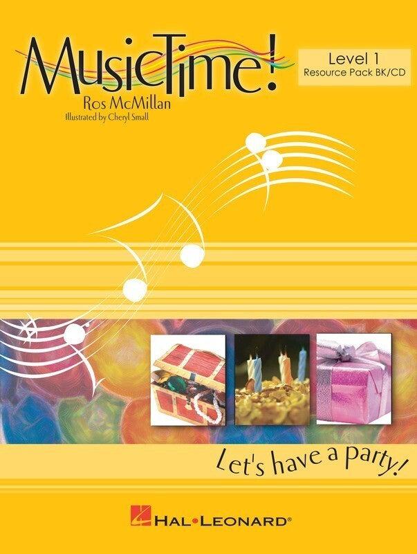Musictime Lets Begin Level 1 Book/CD