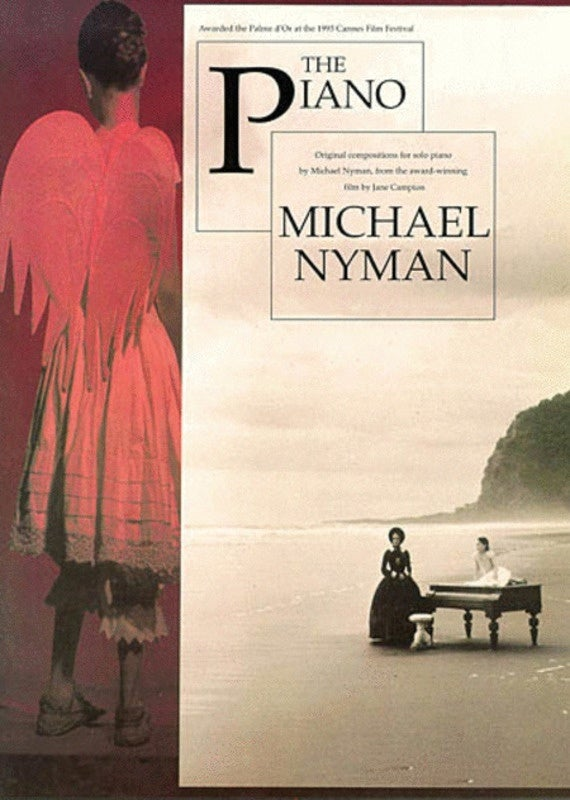 Nyman The Piano Pf Book Only (Softcover Book)