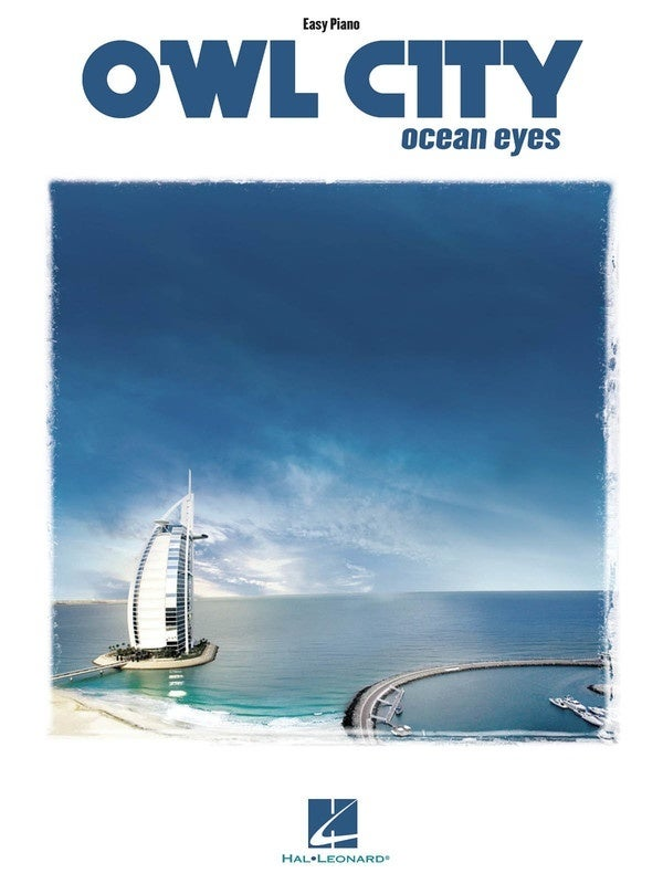 Owl City - Ocean Eyes Easy Piano (Softcover Book)