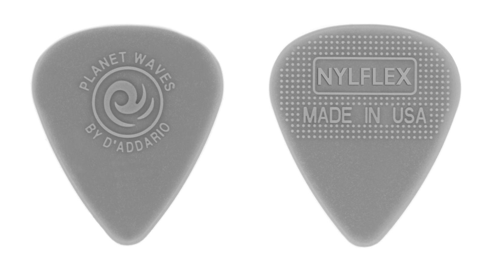 Planet Waves Nylflex Guitar Picks, 10 pack, Medium