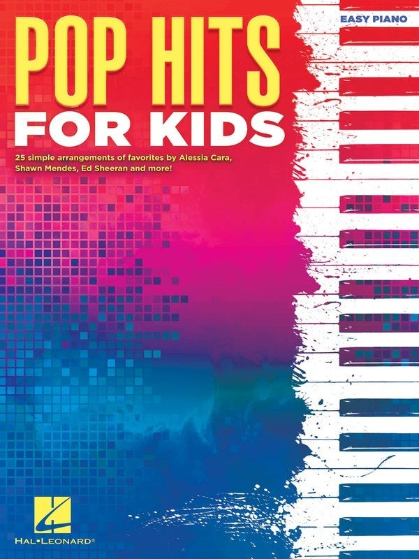 Pop Hits For Kids Easy Piano (Softcover Book)