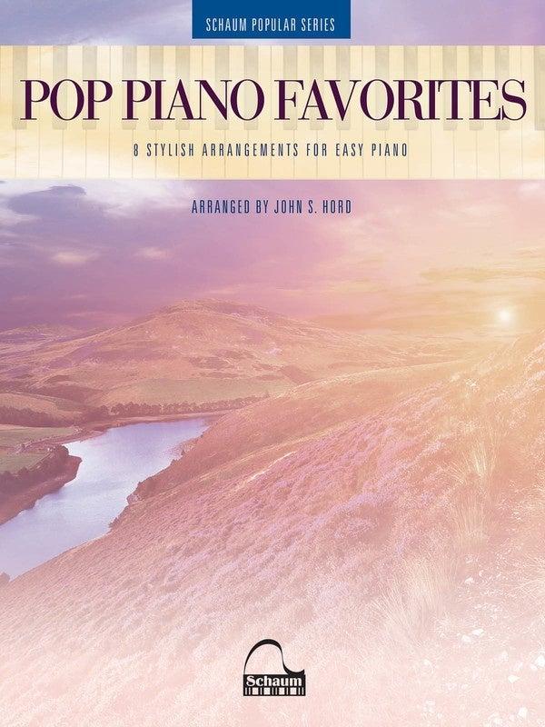Pop Piano Favorites Easy Piano