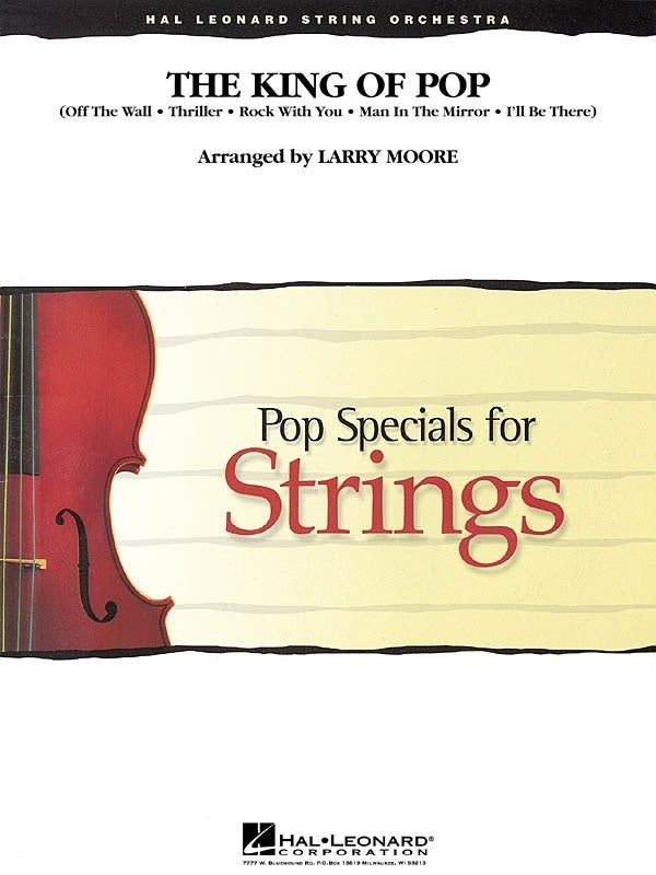 Pop Specials for Strings - King Of Pop Michael Jackson 3-4 (Music Score/Parts)