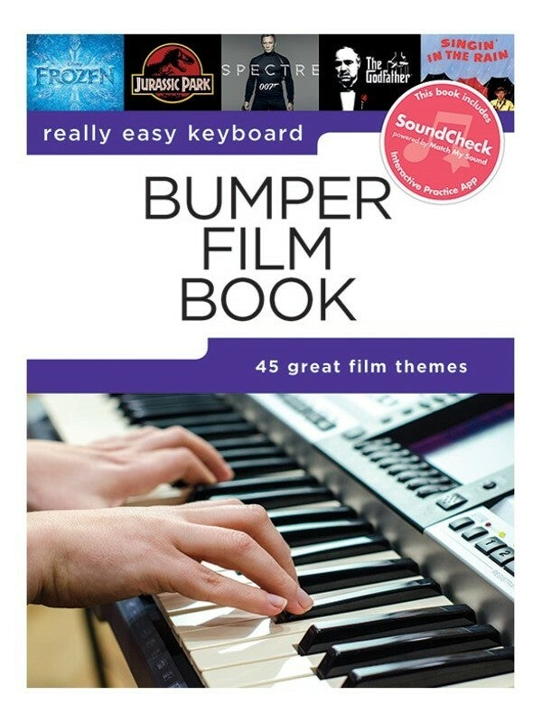 Really Easy Keyboard Bumper Film Book (Softcover Book)