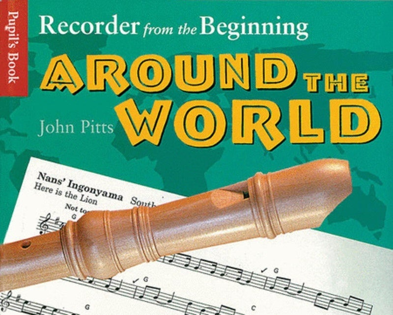 Recorder From Beginning Around World Pupils (Softcover Book)