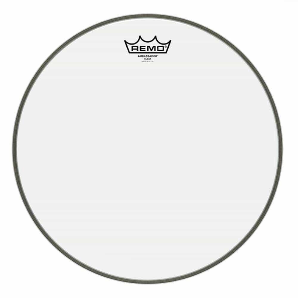 "Remo 14"" Clear Ambassador Drum Head"