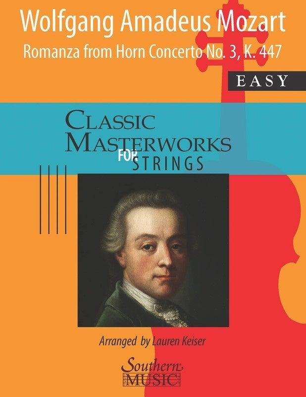 Romanza From Horn Concerto No 3 So2 Score/Parts