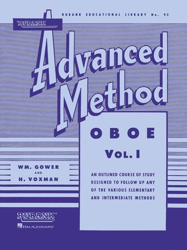 Rubank Advanced Method Oboe Vol 1 (Softcover Book)