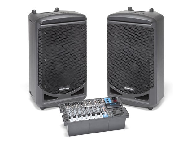 Samson Audio : XP1000 1000watt Portable PA with Wireless