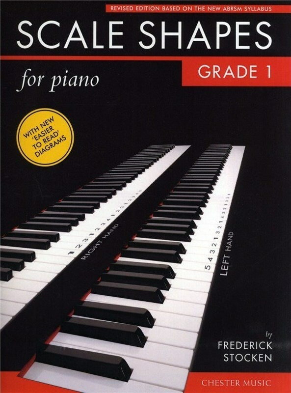 Scale Shapes For Piano Grade 1 (Softcover Book)