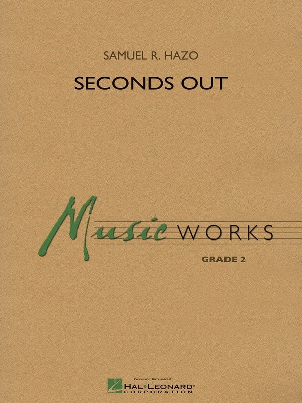 Seconds Out Music Works 2 Score/Parts