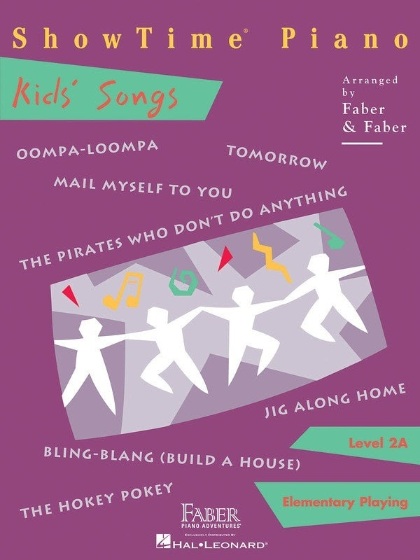 Show Time Piano Kids Songs Level 2A (Softcover Book)