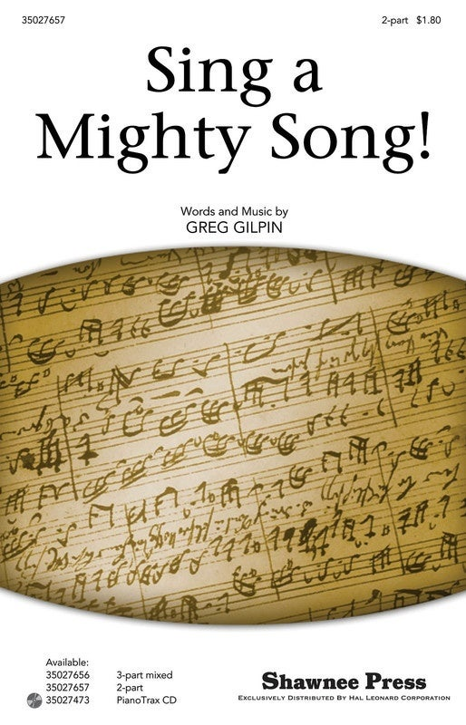 Sing A Mighty Song 2Pt (Octavo)
