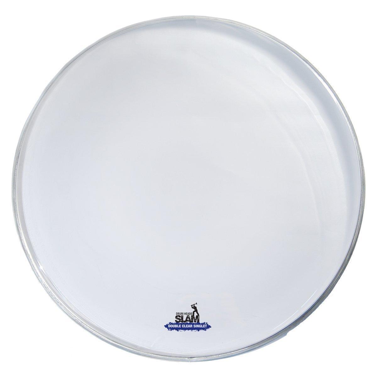 "Slam 2-Ply Clear Drum Head 12"""