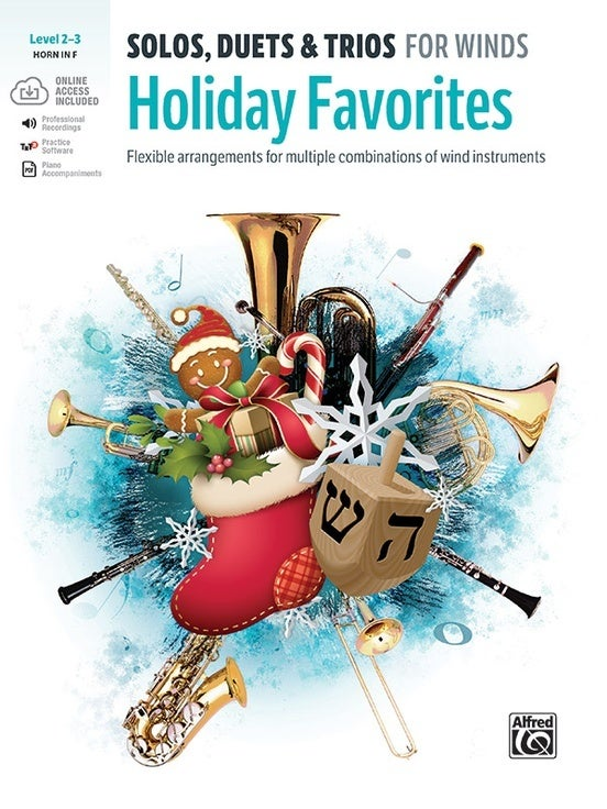 Solos Duets & Trios: Holiday Favorites Horn