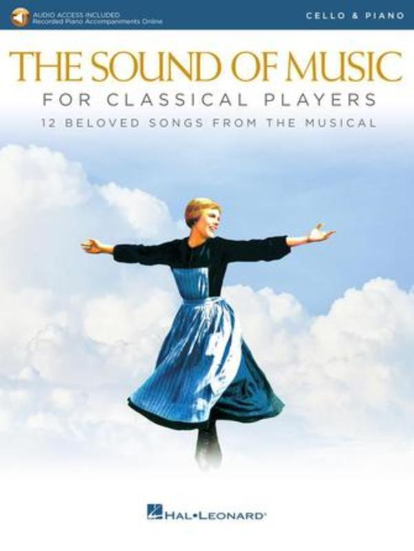 Sound Of Music For Classical Players Cello Book/Online Audio