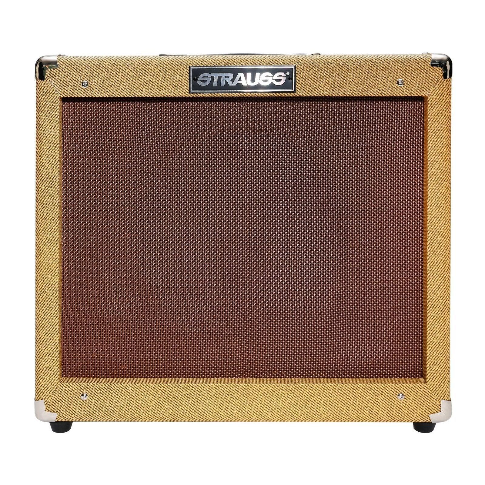 Strauss Legacy 'Vintage' 50 Watt Solid State Guitar Amplifier Combo (Tweed)