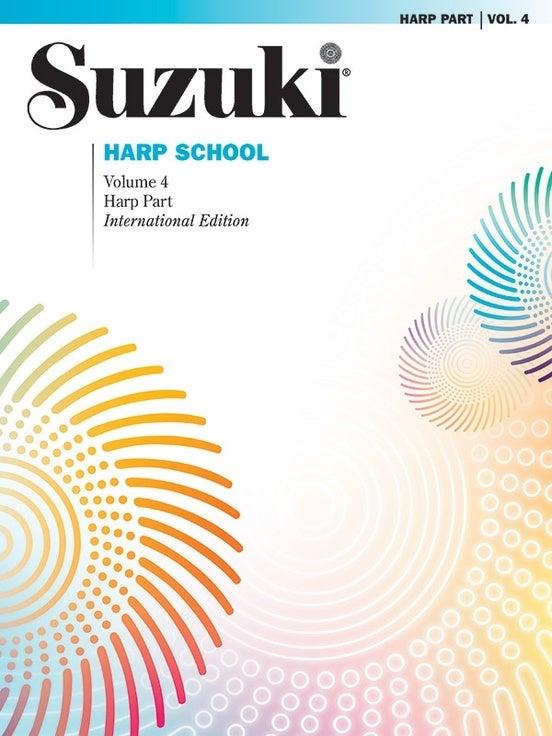 Suzuki Harp School Volume 4