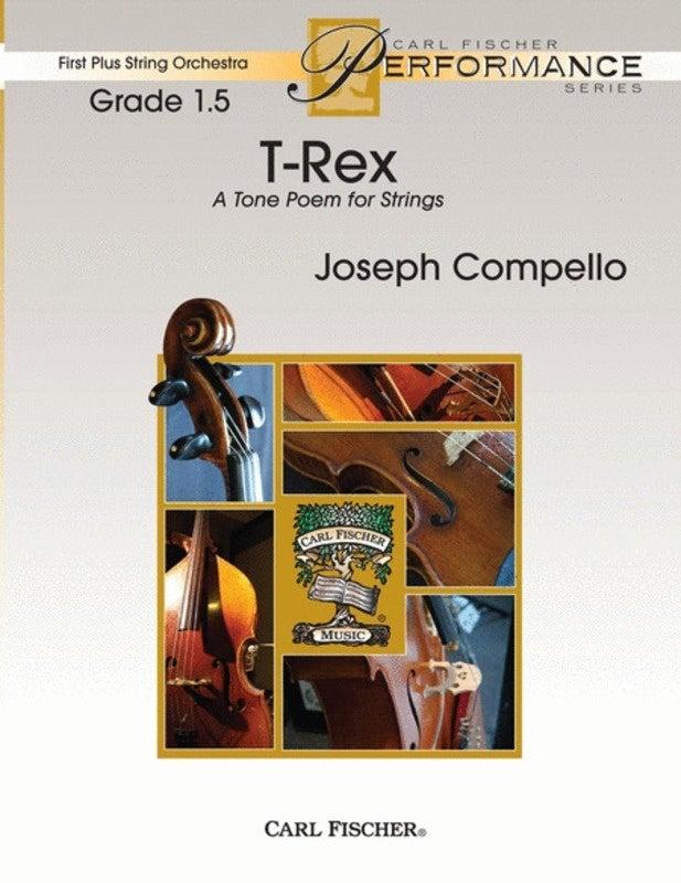 T Rex So1.5 Score/Parts Book