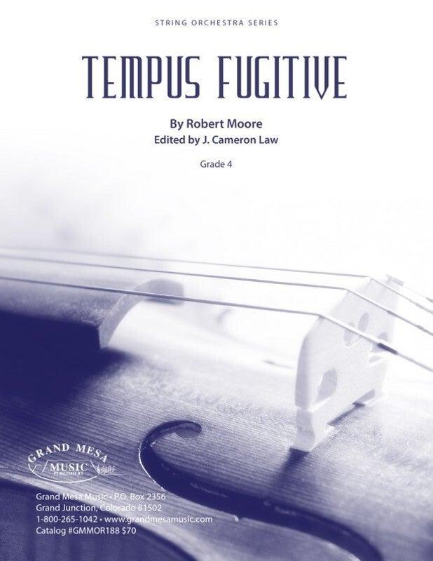 Tempus Fugitive So4 Score/Parts Book