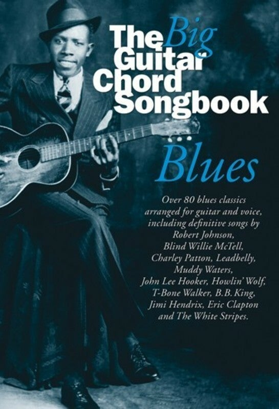 The Big Guitar Chord Songbook Blues (Softcover Book)