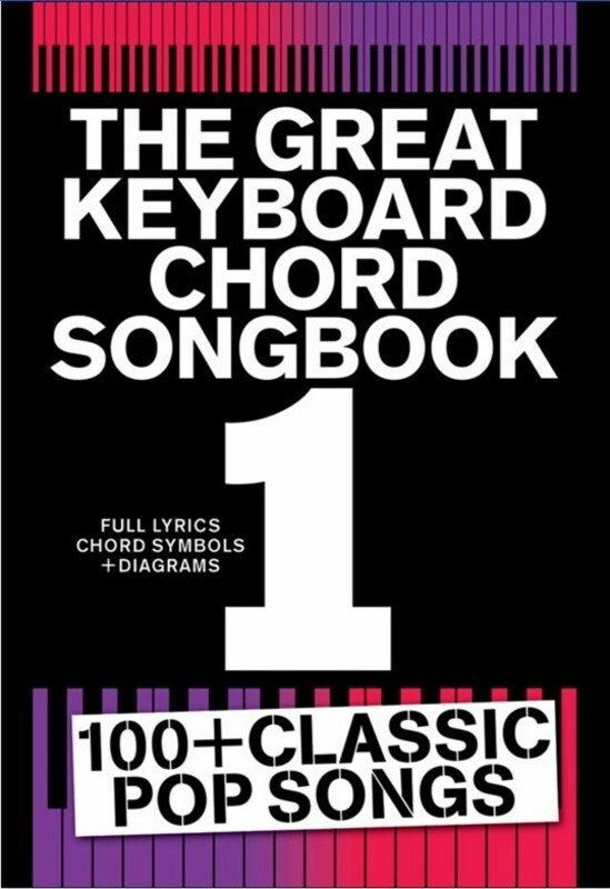 The Great Keyboard Chord Songbook 1 (Softcover Book)