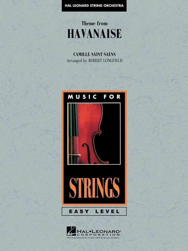 Theme From Havanaise Eso2 (Music Score/Parts)