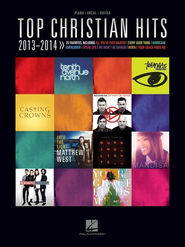 Top Christian Hits 2013-2014 PVG (Softcover Book)