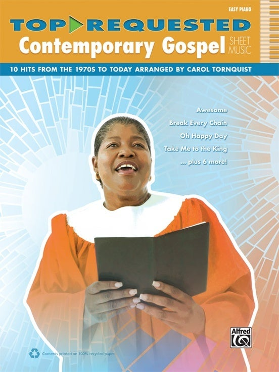 Top-Requested Contemporary Gospel Sheet Music Ep