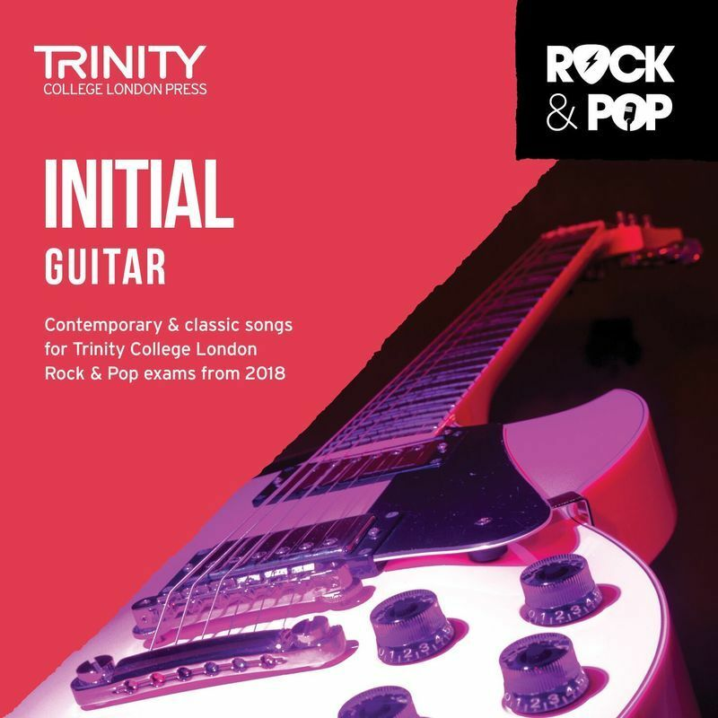 Trinity Rock and Pop Guitar Initial CD 2018 (CD Only)