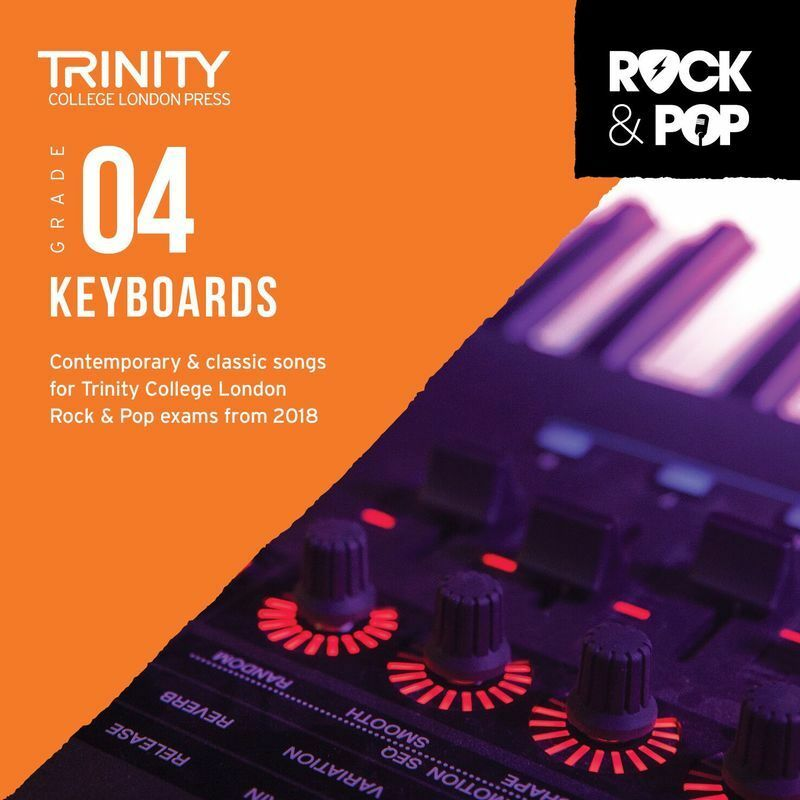 Trinity Rock and Pop Keyboards Gr 4 CD 2018 (CD Only)