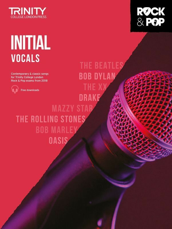 Trinity Rock and Pop Vocals Initial 2018 (Softcover Book)