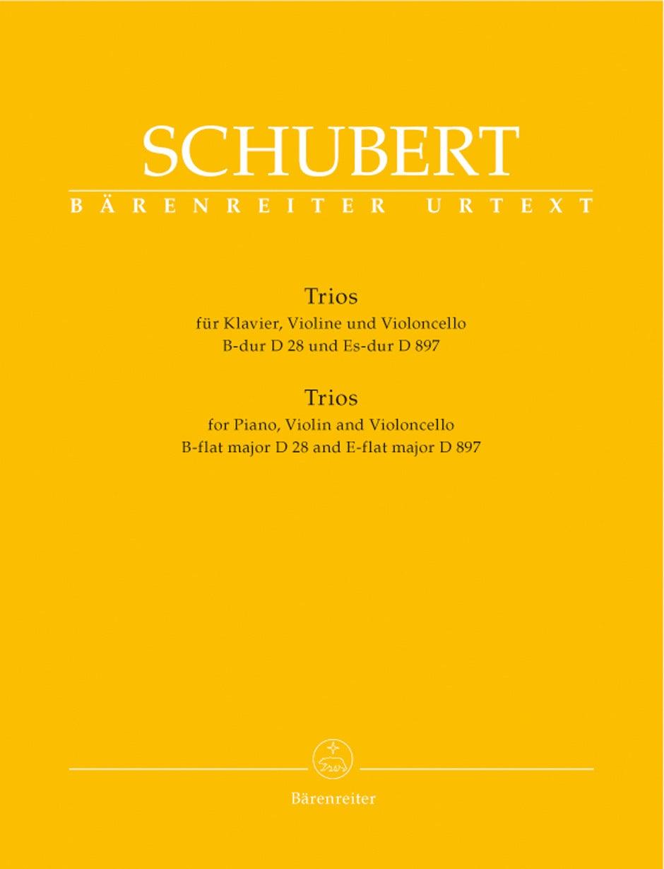 Trios For Piano, Violin And Violoncello In B-Flat Major/E-Flat-Major Op. Post. 148 D28/D897