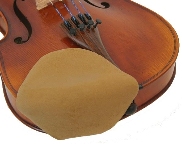 Violin Chinrest Cover Strad-Pad Beige Seconds Large