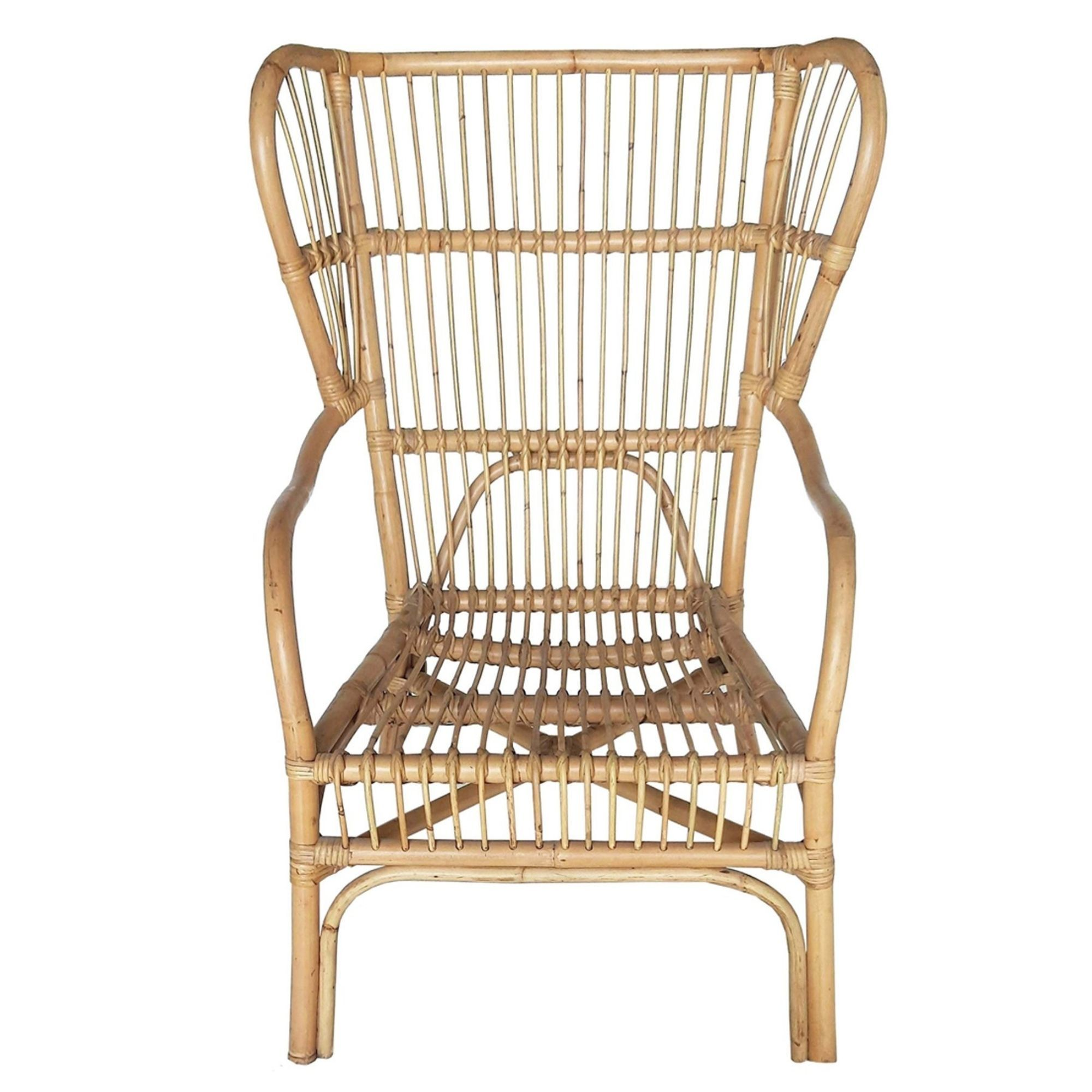 Bangalow Occasional Chair Natural Rattan