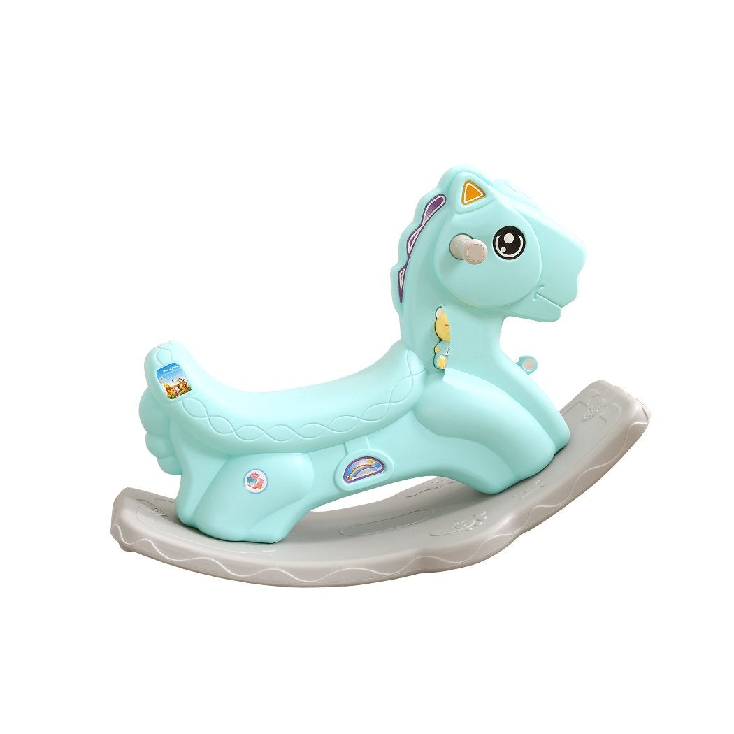 BoPeep Kids Rocking Horse Toddler Baby Horses Pony Ride On Toy Balance Rocker