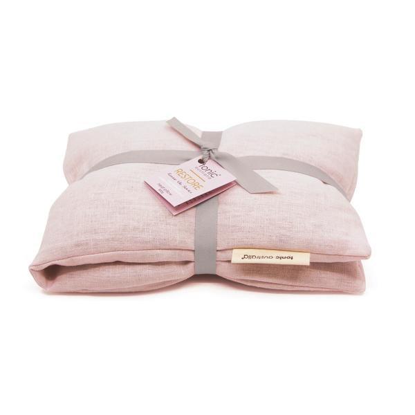 Heat Pillow - Luxe Linen Blush