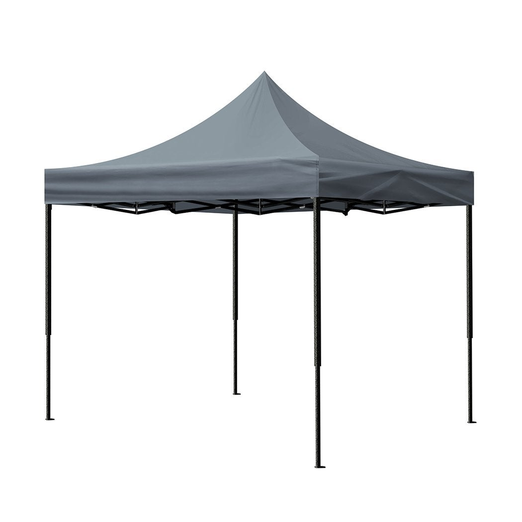 Mountview Gazebo Tent 3x3 Outdoor Marquee Gazebos Camping Canopy Wedding Folding